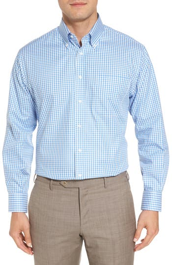 Nordstrom Men's Shop Classic Fit Non-Iron Gingham Dress Shirt