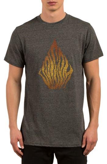 Volcom Blooms Day T-Shirt, Grey