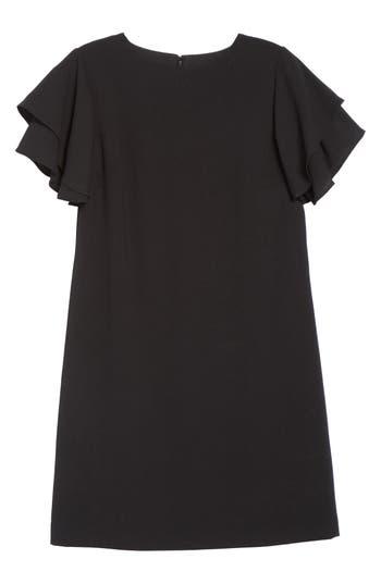 Chetta B Crepe Shift Dress, Black