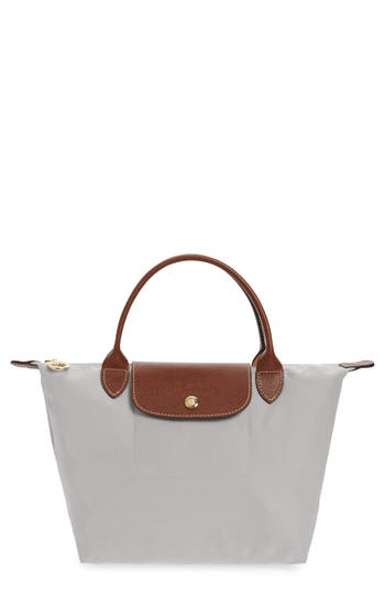 Longchamp 'Mini Le Pliage' Handbag - Grey