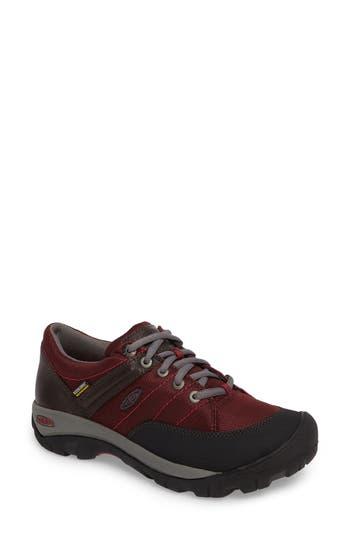 Keen Presidio Waterproof Sport Sneaker, Red
