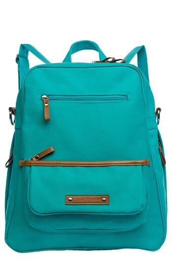 Infant Vilah Bloom Monroe-On-The-Go Diaper Backpack - Blue/green