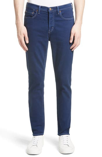 Acne Studios River Slim Tapered Fit Jeans, Blue