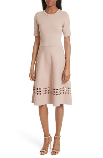 A.l.c. Sara Cutout Dress, Pink