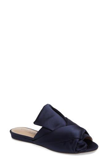 Charles By Charles David Mya Folded Slide Sandal, Blue