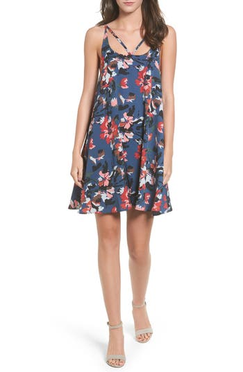 Bp. Print Strappy Slipdress