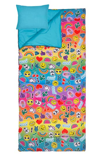 3C4G Emoji Patch Sleeping Bag Set