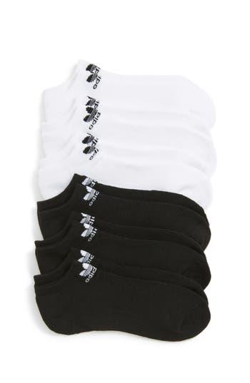 Toddler Boys Adidas Trefoil 6Pack NoShow Socks