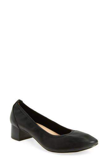 Bella Vita Matisse Block Heel Pump, Black