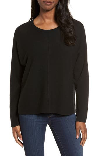 Eileen Fisher Merino Wool Sweater, Black