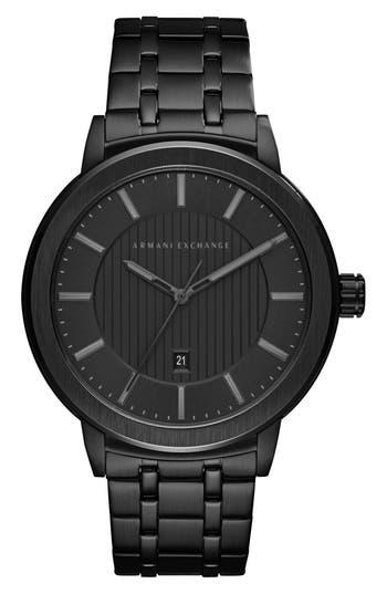 AX Armani Exchange Bracelet Strap Watch, 46mm