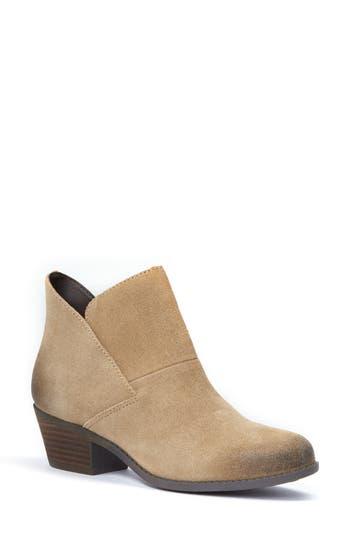 Me Too Zena Ankle Boot W - Beige