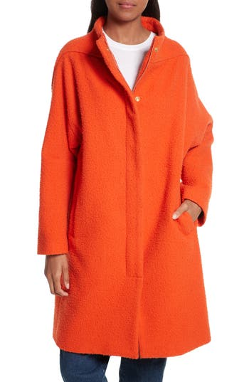 Women's Rachel Comey Shasta Longline Wool Coat, Size 0 - Yellow