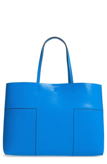 Tory Burch 'Block-T' Leather Tote -