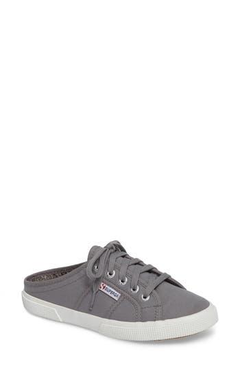 Superga 2288 Sneaker Mule, Grey
