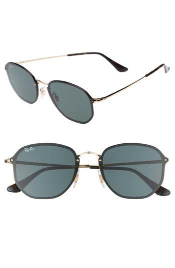 Ray-Ban 5m Aviator Sunglasses - Gold/ Green