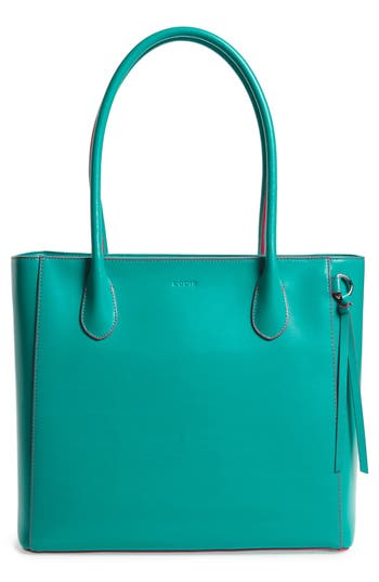 Lodis Cecily Leather Tote - Green