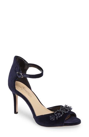 Imagine By Vince Camuto Prisca Embellished Sandal- Blue