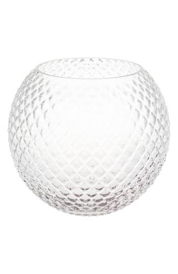 Eightmood Ilse Glass Vase, Size One Size - White
