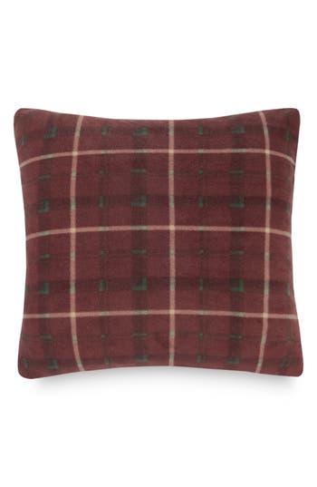 Pendleton Plaid Fleece Pillow, Size One Size - Brown