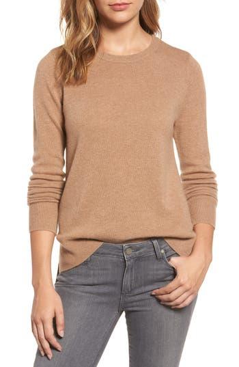 Women's Halogen Crewneck Cashmere Sweater
