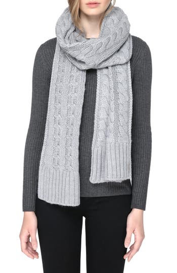 Women's Soia & Kyo Cable Knit Scarf