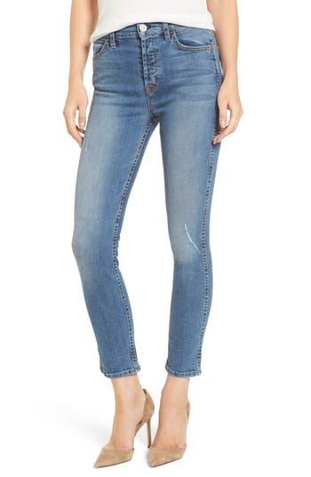 HUDSON Women'S  Jeans Holly High Waist Ankle Skinny Jeans in Babyface