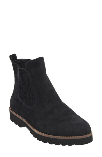 Earthies Madrid Chelsea Boot, Black