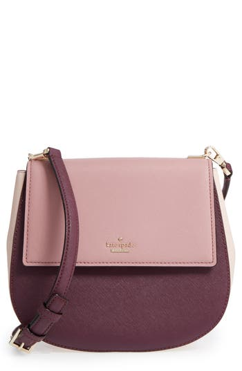 Kate Spade New York Cameron Street - Byrdie Leather Crossbody Bag - Pink