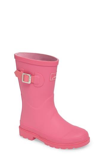 Girl's Joules Welly Matte Waterproof Rain Boot
