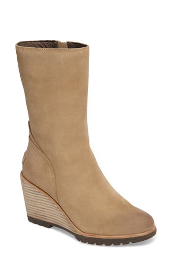 Sorel After Hours Waterproof Bootie- Beige