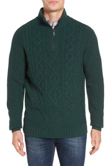 Rodd & Gunn Cape Scoresby Wool Sweater, Green