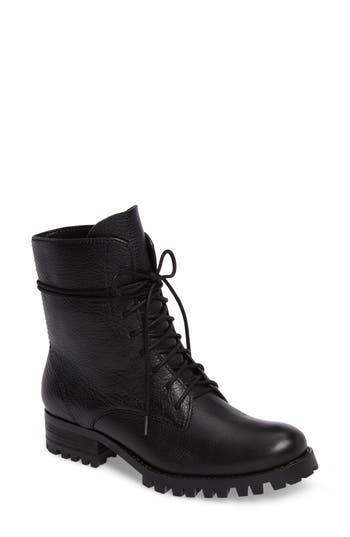 Splendid Romy Ii Combat Boot- Black