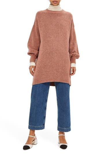 Topshop Sweater Dress, US (fits like 0) - Pink