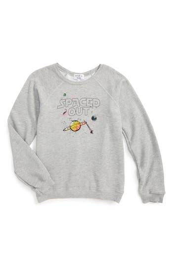 Girl's Wildfox Sommers Pullover, Size 12 - Grey