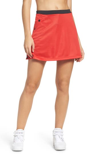 Kappa Authentic Pique Skirt, Red