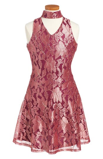 Girl's Penelope Tree Ariana Lace Dress