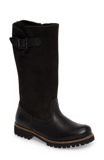 Blackstone Ol04 Tall Boot, Black