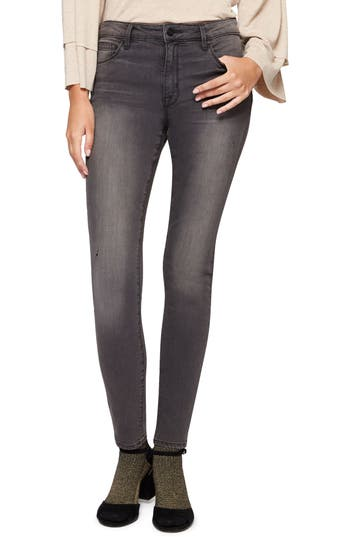 Sanctuary Saige Curvy Fit Skinny Jeans, Black