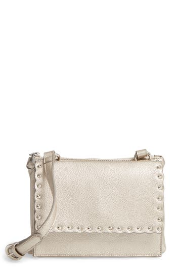 Chelsea28 Harlow Faux Leather Crossbody Bag - Metallic