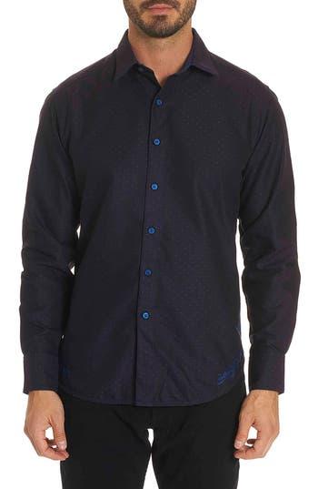 Men's Robert Graham Spruce Classic Fit Sport Shirt