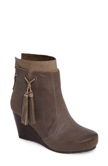 Otbt Vagary Wedge Bootie- Grey