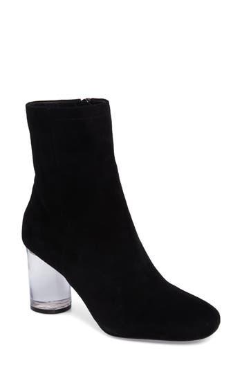 Jessica Simpson Merta Column Heel Bootie, Black