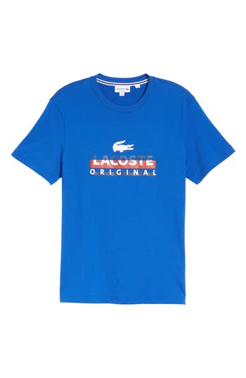 Lacoste Graphic T-Shirt, Blue