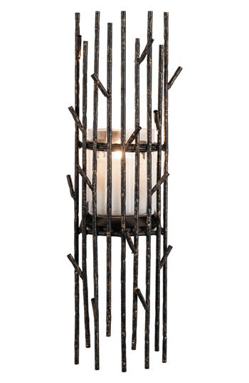 Foreside Twig Wall Candle Holder, Size One Size - Metallic