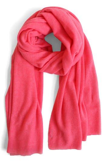 Women's White + Warren Travel Cashmere Wrap, Size One Size - Orange