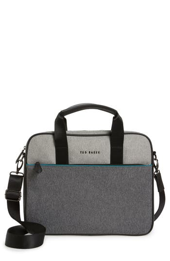 Ted Baker London Maka Briefcase - Grey