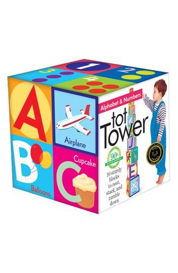 Toddler Eeboo Alphabet Tower