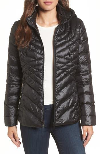 Women's Halogen Hooded Down Blend Puffer Jacket at NORDSTROM.com