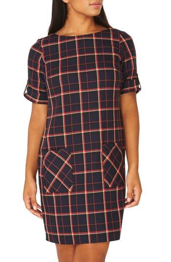 Dorothy Perkins Check Shift Dress, US / 10 UK - Blue